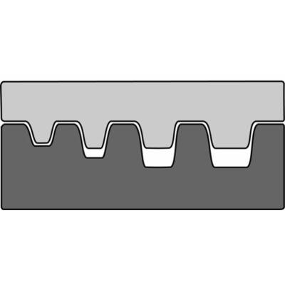 Haupa présbetét, 0.5 - 4 mm2   210763/E