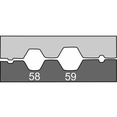 Haupa Présbetét koax kábelhez RG 58-59-62-6 | 210767/E