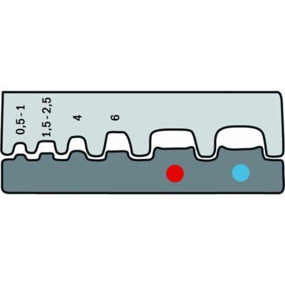 Haupa Présbetétek kábelsarukhoz és érvéghüvelyekhez, 0.5 - 6.0   210784/E