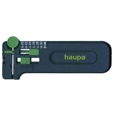 HAUPA Precíziós kábelcsupaszító PWS-Plussz, 0.25 - 0.8 Ø | 200068