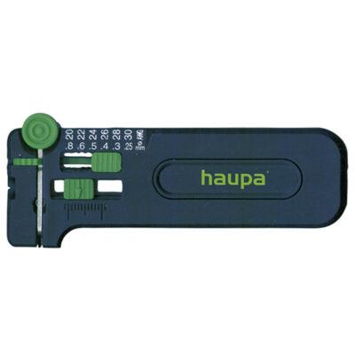 Haupa precíziós kábelcsupaszító PWS-Plussz, 0.25 - 0.8 Ø