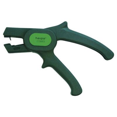Haupa szuper csupaszító fogó, 0.5 - 4 mm2, 170 mm