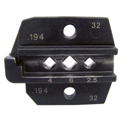 """Haupa présbetétek """"Multi-Contact"""" kontaktusokhoz, 2.5 + 4 + 6 mm2"""