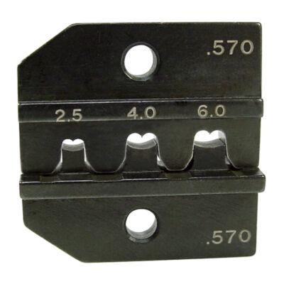"""Haupa présbetétek """"Multi-Contact"""" kontaktusokhoz, MC4, 2.5 + 4 + 6 mm2, AWG 13/11/10"""