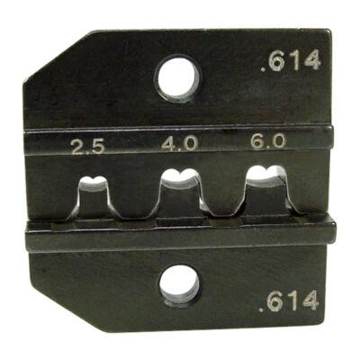 """Haupa présbetétek """"Hirschmann"""" kontaktusokhoz, 2.5 + 4 + 6 mm2, AWG 13/11/10"""