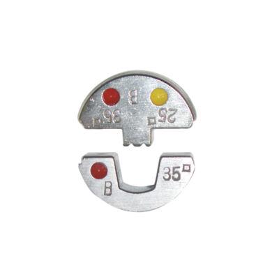 Haupa présbetét, 25 mm2, trapéz préselés | 215048