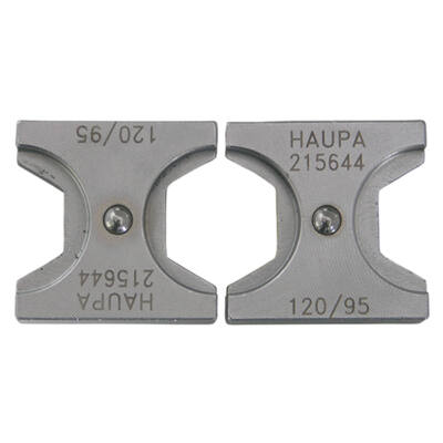 HAUPA Présbetét DIN, hatszög préselés, 150 mm2 | 215654