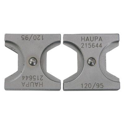 HAUPA Présbetét DIN, hatszög préselés, 185 mm2 | 215655