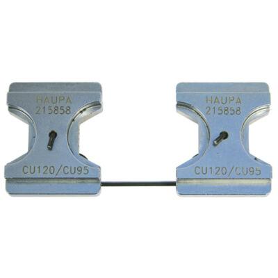HAUPA Présbetét, standard, 150 mm2, hatszög préselés | 215859