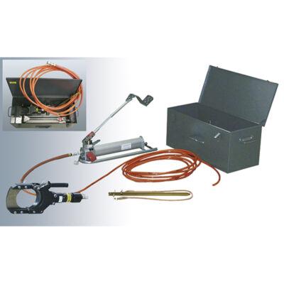 HAUPA Hidraulikus biztonsági / FAM / vágókészlet, 120 mm, 850 bar