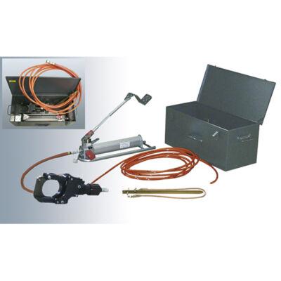 Haupa hidraulikus biztonsági vágókészlet feszültség alatti vágáshoz, VDE 0105 rész 100