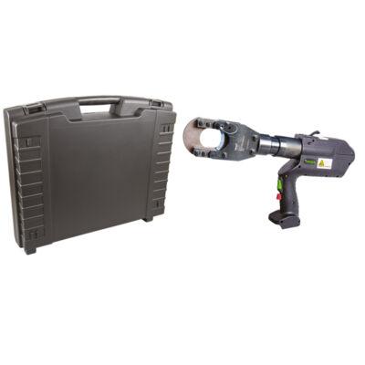 """Haupa hidraulikus, akkumulátor üzemű kábelvágó """"AS12-52"""", kofferben"""
