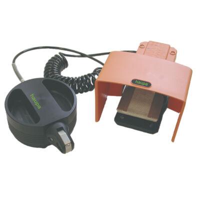 Haupa pneumatikus présszerszám, asztali kivitel, 200 mm, 4-10 mm2